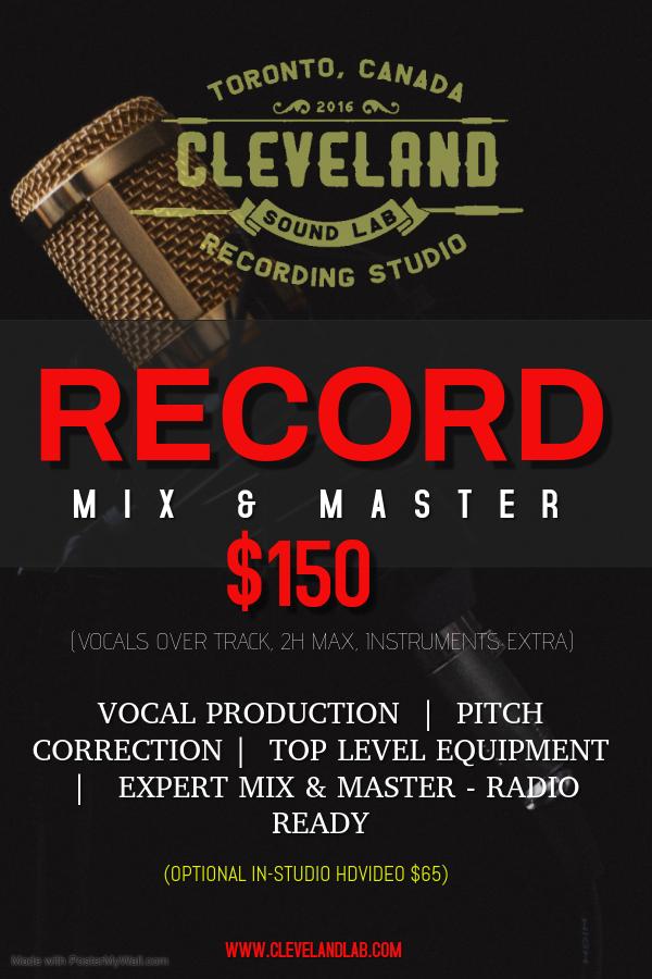 RECORD MIX & MASTER PROMO