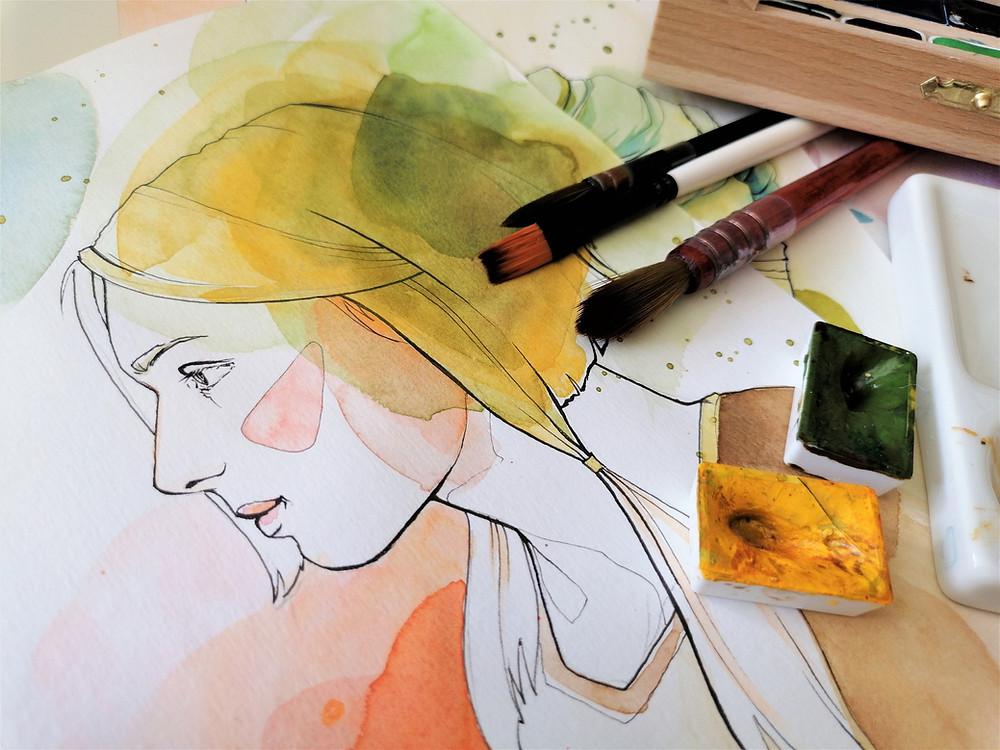 Marc Primo Warren Art
