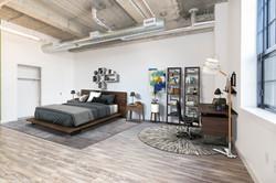 D Line/04 Studio Bed/Office Staged