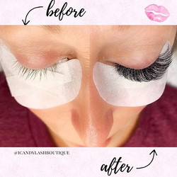 😻 This type of natural lash is challeng