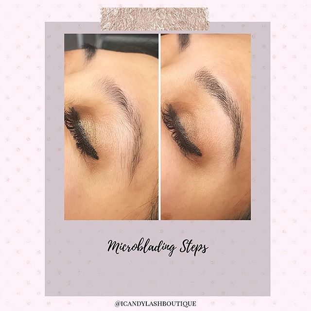 My favorite steps for microblading brows