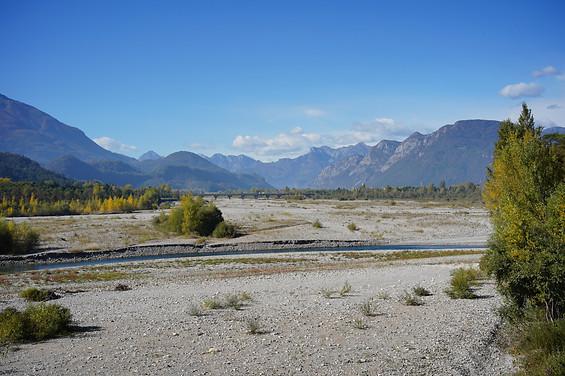 Tagliamento River, Italy