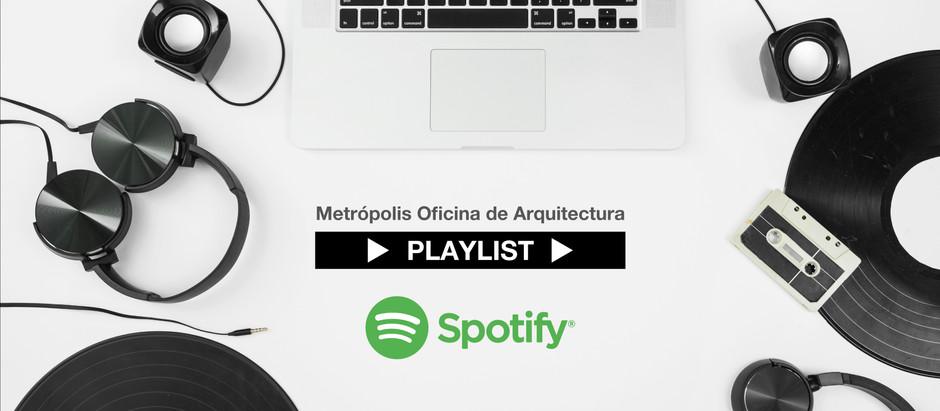 Arquitectura y Música: el playlist de Metrópolis Oficina de Arquitectura