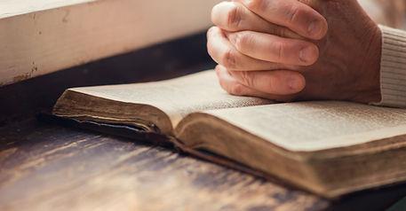 Bible Hands Prayer