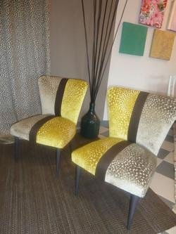Coppia di sedie Vintage