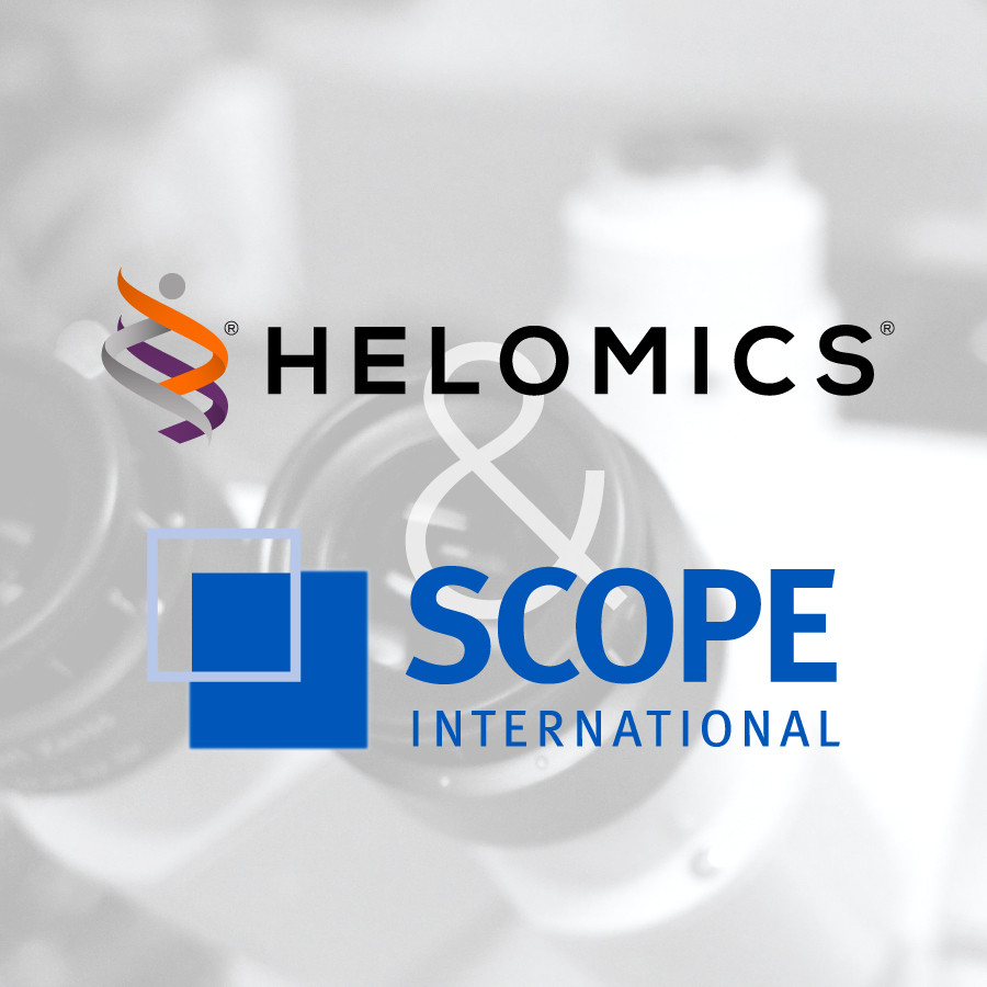Helomics Corp and SCOPE international
