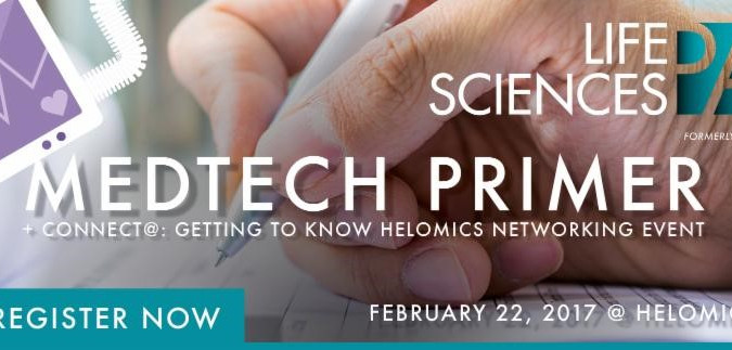 Helomics Will Host Life Sciences PA Seminar and Cocktail Reception - Feb. 22, 2017