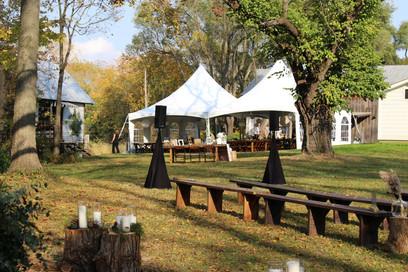 Ceremony Sound at the Stinson Wedding