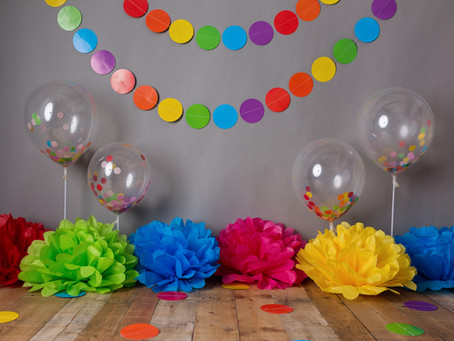 One colorful birthday
