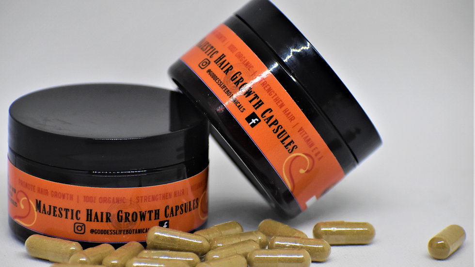 Majestic Hair Growth Capsules