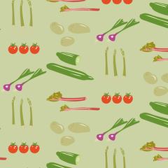 Grönsaksmönster