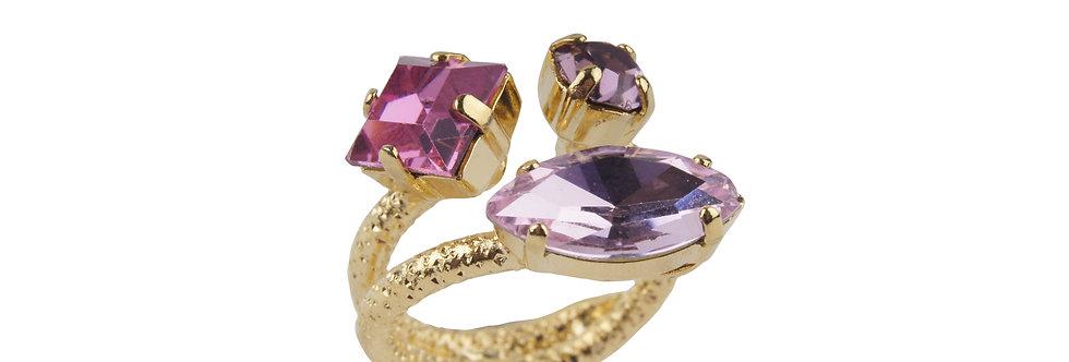 Semi Helix Ring