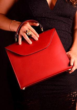Grace Kelly Handbag red.JPG