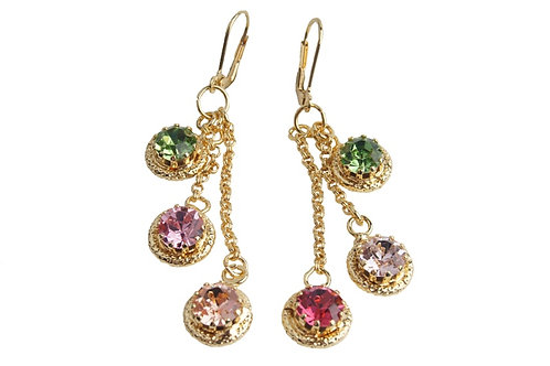 WS Circle Delight charm earrings