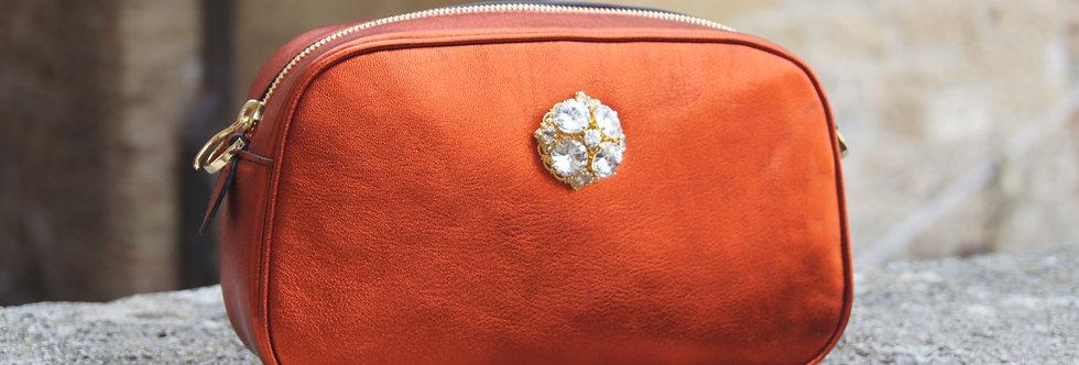 Nina Clutch VitN Metallic Handbag