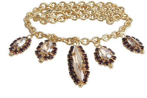WS Dew Drop Charm Necklace