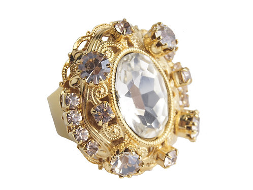 Royal Oval Ovation ring in Cry_GoldQ
