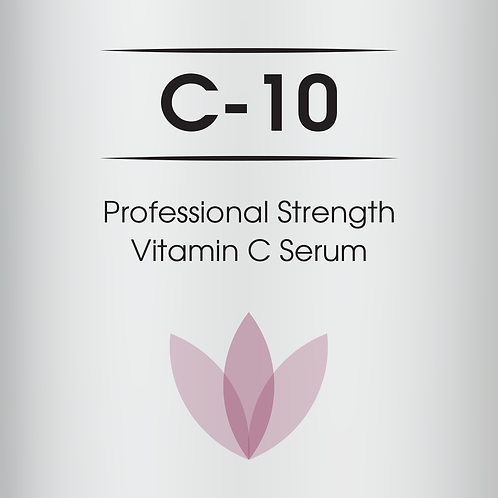 C-10 - Professional Strength Vitamin C Serum