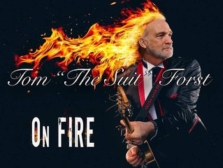 Tom The Suit Forst Releases New Blues Rock Album On Fire Produced by Factory Underground Staff Produ