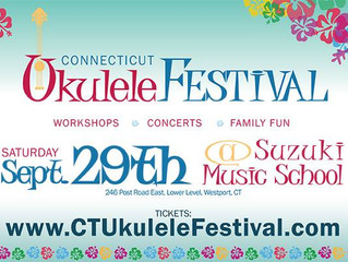 Factory Underground is Cohosting the CT Ukulele Festival September 29th