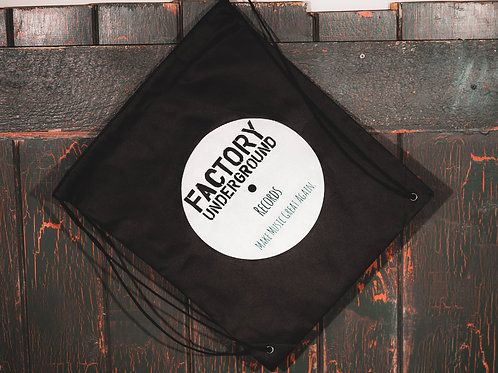 Factory Underground Drawstring Bag