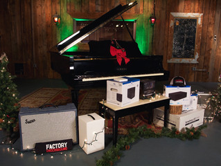 Santa Came to Factory Underground Recording Studio Early This Year with a Yamaha C3 Conservatory Gra