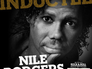 Factory Underground Studio Congratulates Nile Rodgers Inducted into the Rock and Roll Hall of Fame