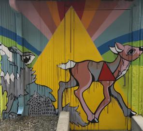 'Mountain Memories' south wall
