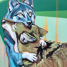 Wolf Hug