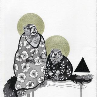 Marmots in Muumuus