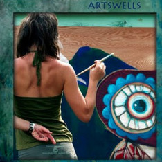 ArtsWells Mural Artist Stephanie Kellett