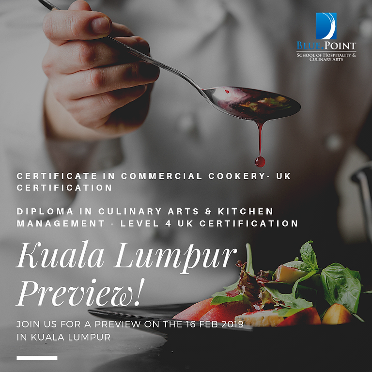 Live your Dream - Culinary & Patisserie Programme Preview in Kuala Lumpur