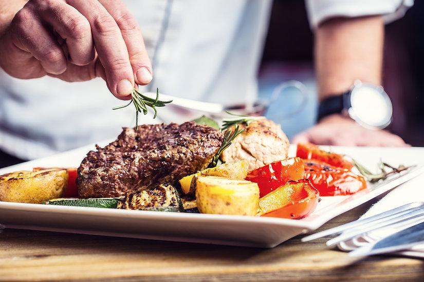 Chef-in-hotel-or-restaurant-kitchen-cook