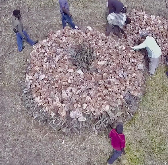 Building a kiln. Building a community