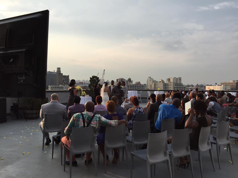 CityView Rooftop Wedding
