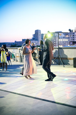 Dancing at CityView Event