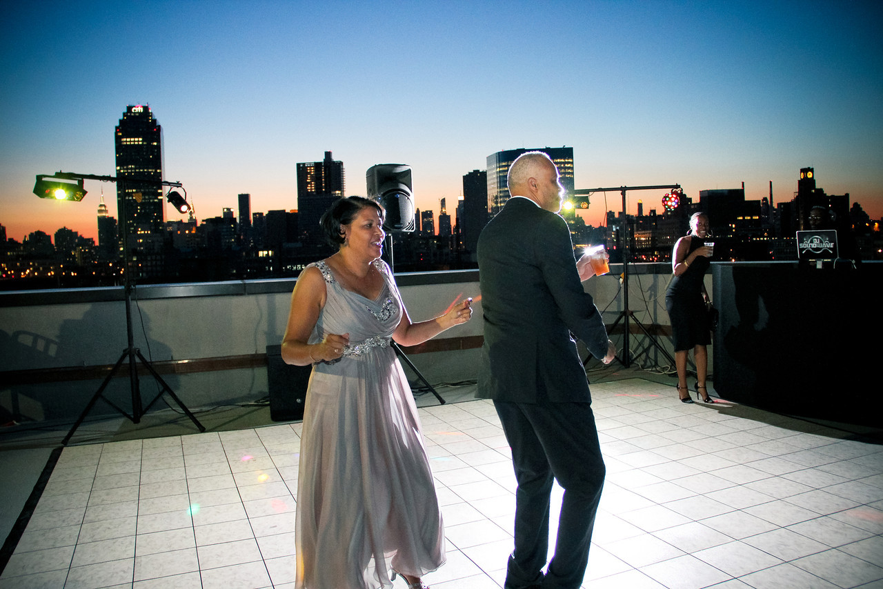 Dancing on CityView Rooftop