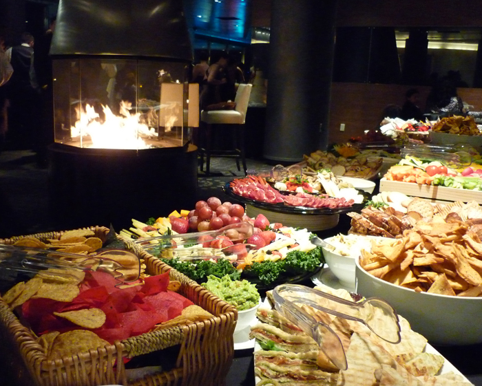Food Buffet at CityView Lounge