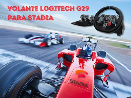 Instalación Volante Logitech G29 para Google Stadia PC (paso a paso)