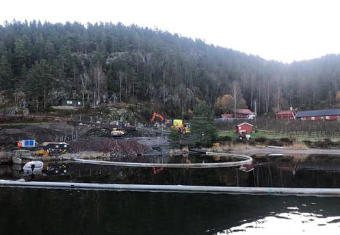 Oversikt fra fjorden