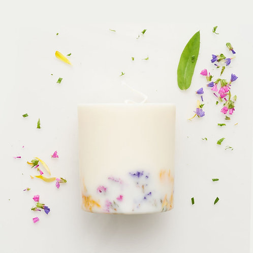 The Lovely Chickpea - Sojawachs Duftkerze - Wildblumen