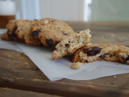 Schoko-Mandel Cookies von Mandelmilchmädchen