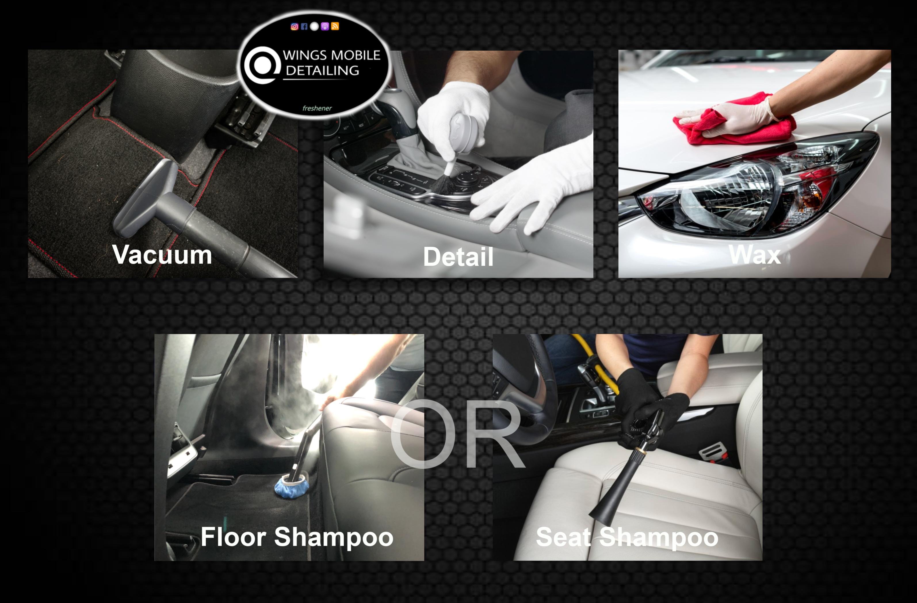 Deluxe + Seat Or Floor Shampoo