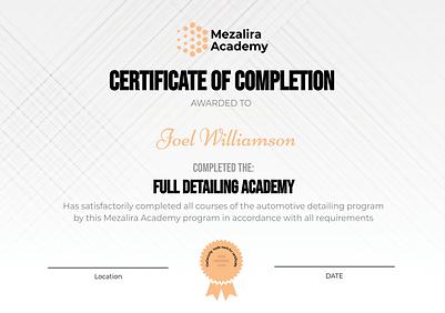Mezalira Academy Certificate.png
