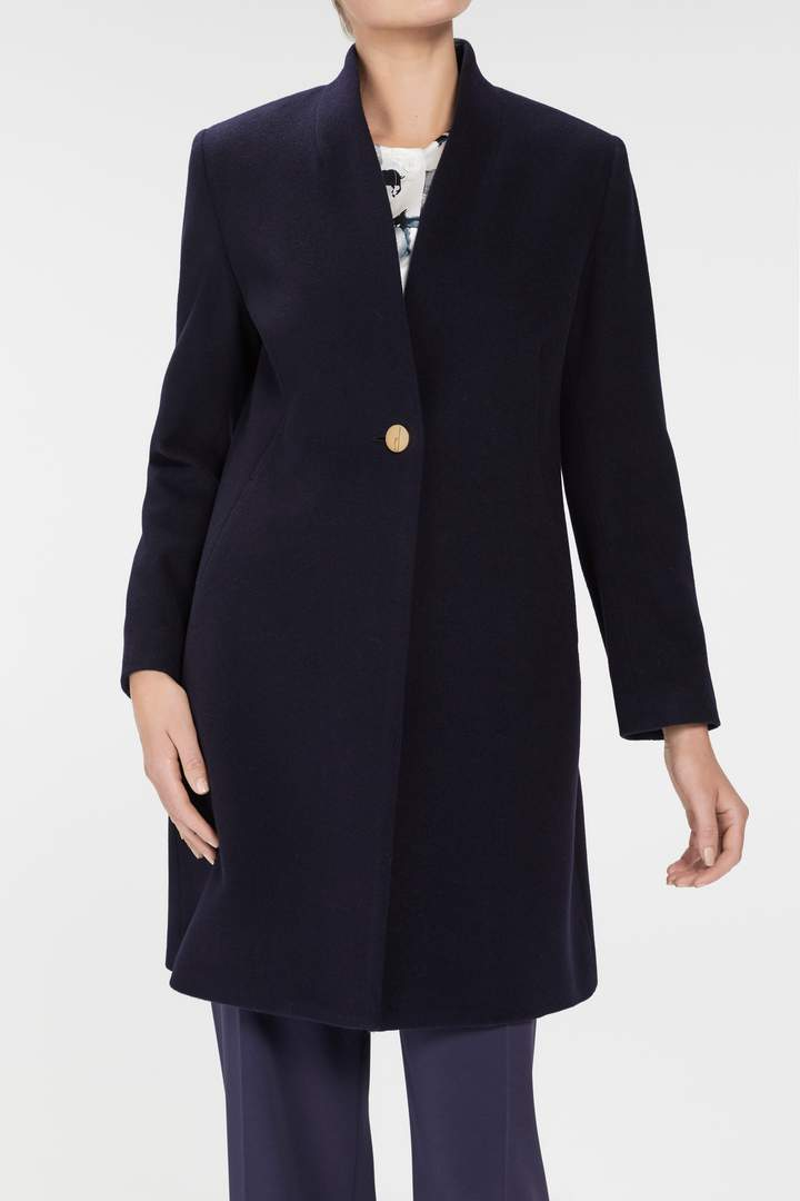 Vienna Coat - Navy