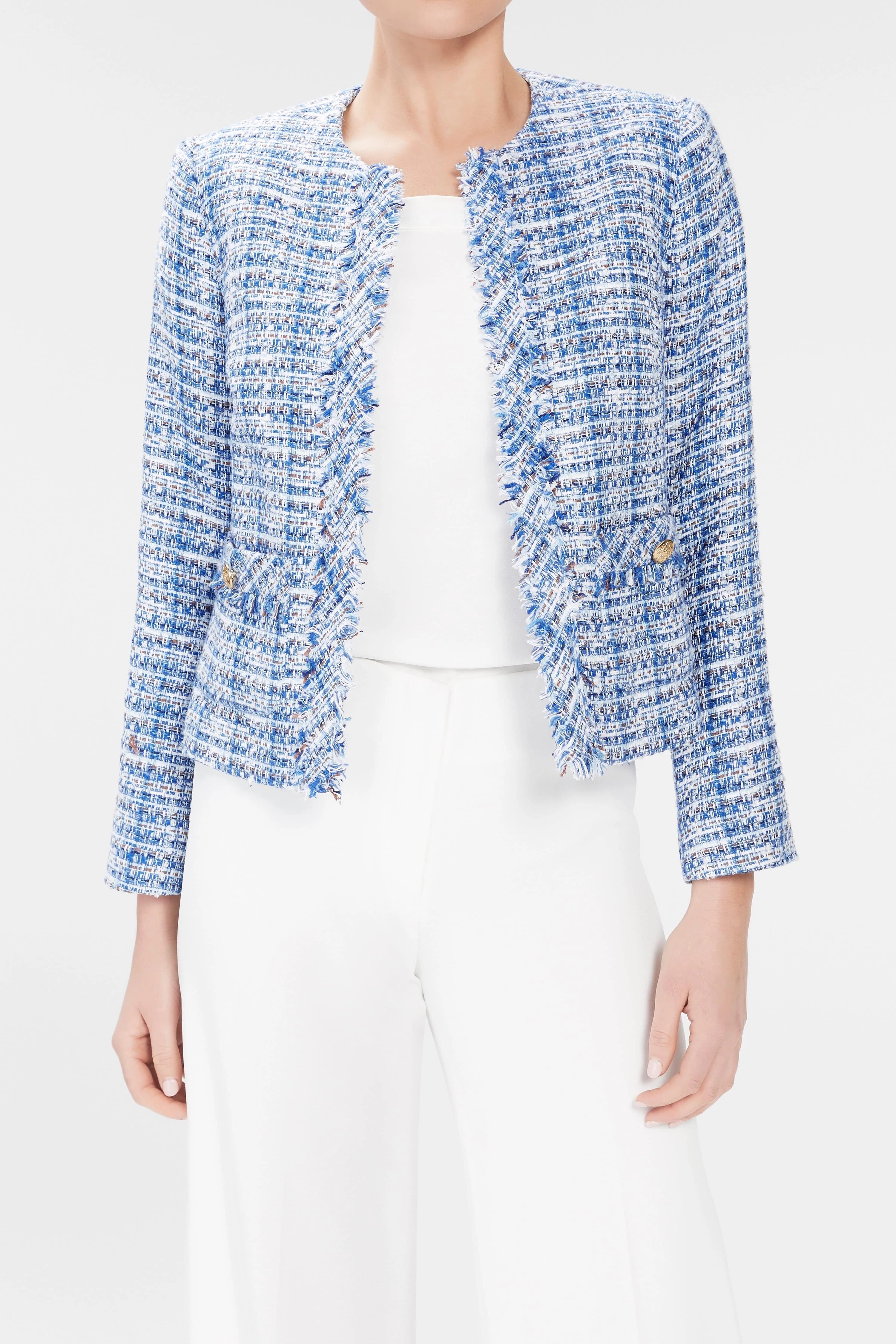 Clarise Jacket - Blue