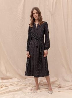 Claremont Dress - Navy