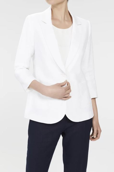 Bertrand Jacket - White