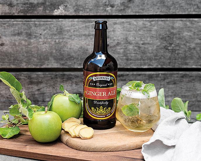 Brunneby Ginger Ale 500ml