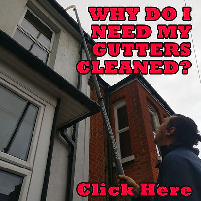 why you need gutter cleaners thanet